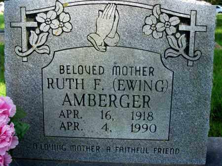EWING AMBERGER, RUTH - Fulton County, Arkansas | RUTH EWING AMBERGER - Arkansas Gravestone Photos