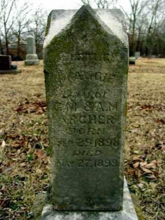 ARCHER, MAGGIE - Fulton County, Arkansas   MAGGIE ARCHER - Arkansas Gravestone Photos
