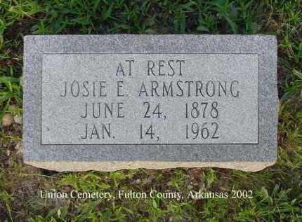 ARMSTRONG, JOSIE E. - Fulton County, Arkansas | JOSIE E. ARMSTRONG - Arkansas Gravestone Photos