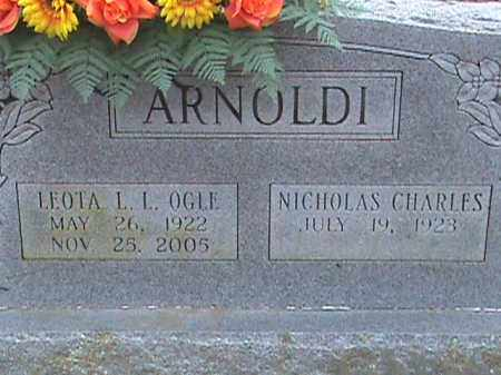 ARNOLDI, LEOTA L.L. - Fulton County, Arkansas | LEOTA L.L. ARNOLDI - Arkansas Gravestone Photos