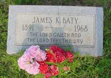 BATY, JAMES K. - Fulton County, Arkansas | JAMES K. BATY - Arkansas Gravestone Photos