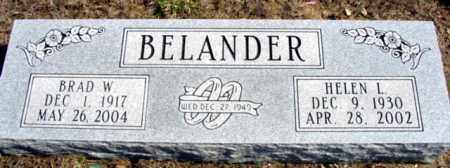 BELANDER, BRAD W. - Fulton County, Arkansas | BRAD W. BELANDER - Arkansas Gravestone Photos