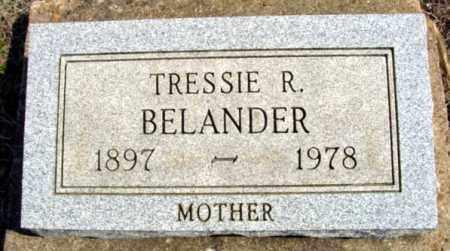 BELANDER, TRESSIE R. - Fulton County, Arkansas | TRESSIE R. BELANDER - Arkansas Gravestone Photos