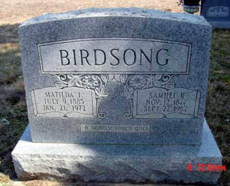 BIRDSONG, SAMUEL R. - Fulton County, Arkansas   SAMUEL R. BIRDSONG - Arkansas Gravestone Photos