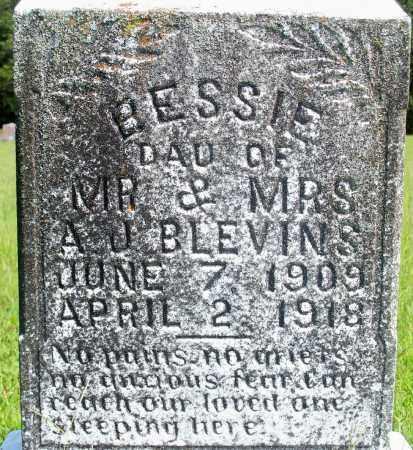 BLEVINS, BESSIE - Fulton County, Arkansas   BESSIE BLEVINS - Arkansas Gravestone Photos