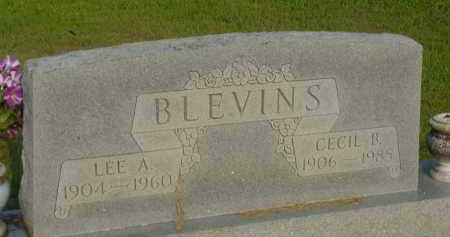 BLEVINS, CECIL B - Fulton County, Arkansas | CECIL B BLEVINS - Arkansas Gravestone Photos