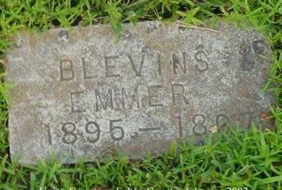 BLEVINS, EMMER - Fulton County, Arkansas | EMMER BLEVINS - Arkansas Gravestone Photos
