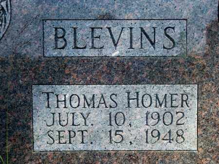BLEVINS, THOMAS HOMER - Fulton County, Arkansas | THOMAS HOMER BLEVINS - Arkansas Gravestone Photos