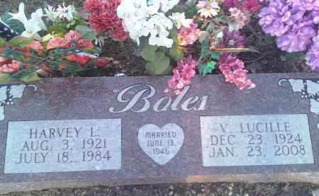 BOLES, HARVEY L - Fulton County, Arkansas   HARVEY L BOLES - Arkansas Gravestone Photos