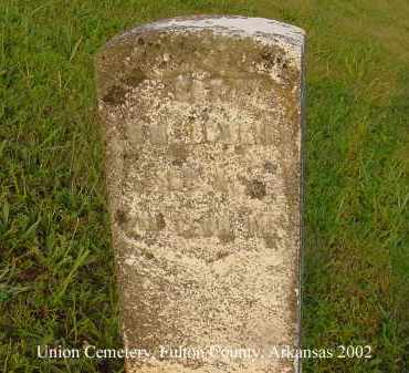 BOWLIN  (VETERAN UNION), WILLIAM - Fulton County, Arkansas | WILLIAM BOWLIN  (VETERAN UNION) - Arkansas Gravestone Photos
