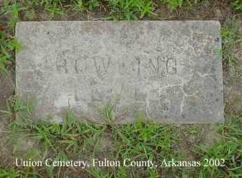 BOWLING, LEVI - Fulton County, Arkansas | LEVI BOWLING - Arkansas Gravestone Photos