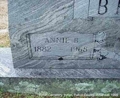 BRAY, ANNIE BELLE - Fulton County, Arkansas | ANNIE BELLE BRAY - Arkansas Gravestone Photos