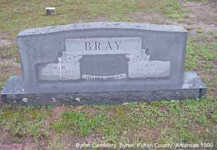 BRAY, JOSEPH - Fulton County, Arkansas   JOSEPH BRAY - Arkansas Gravestone Photos