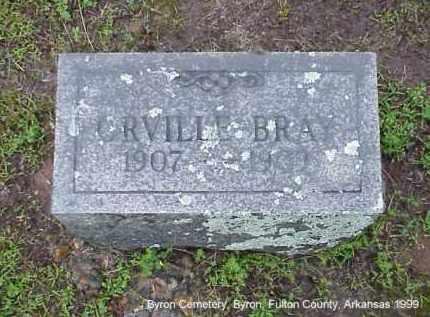 BRAY, ORVILLE - Fulton County, Arkansas | ORVILLE BRAY - Arkansas Gravestone Photos