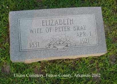 MAIZE BRAY, SARAH ELIZABETH - Fulton County, Arkansas | SARAH ELIZABETH MAIZE BRAY - Arkansas Gravestone Photos