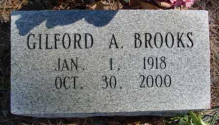 BROOKS, GILFORD A. - Fulton County, Arkansas | GILFORD A. BROOKS - Arkansas Gravestone Photos