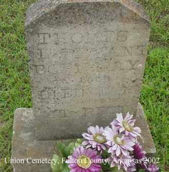 BRYANT, THOMAS L. - Fulton County, Arkansas | THOMAS L. BRYANT - Arkansas Gravestone Photos
