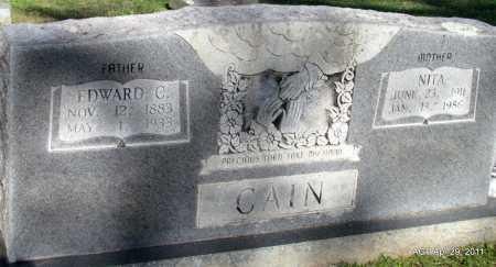CAIN, NITA - Fulton County, Arkansas | NITA CAIN - Arkansas Gravestone Photos