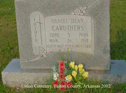 CARUTHERS, DANIEL DEAN - Fulton County, Arkansas | DANIEL DEAN CARUTHERS - Arkansas Gravestone Photos