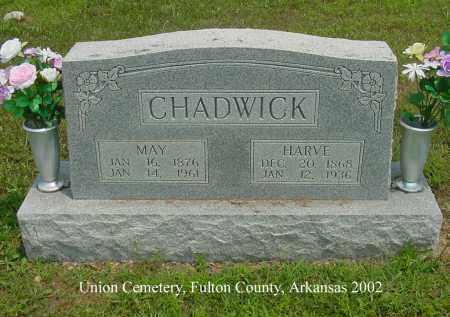 CHADWICK, HARVE - Fulton County, Arkansas | HARVE CHADWICK - Arkansas Gravestone Photos