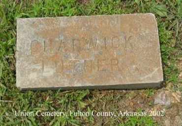 CHADWICK, LUTHER - Fulton County, Arkansas | LUTHER CHADWICK - Arkansas Gravestone Photos