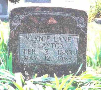 WINFREY CLAYTON, VERNIE LANE - Fulton County, Arkansas | VERNIE LANE WINFREY CLAYTON - Arkansas Gravestone Photos