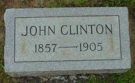 CLINTON, JOHN - Fulton County, Arkansas   JOHN CLINTON - Arkansas Gravestone Photos