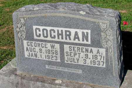 COCHRAN, SERENA A - Fulton County, Arkansas   SERENA A COCHRAN - Arkansas Gravestone Photos