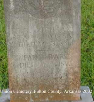 COCHRAN, INFANT BABE - Fulton County, Arkansas | INFANT BABE COCHRAN - Arkansas Gravestone Photos