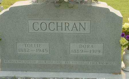 "BRAY COCHRAN, ISODORA HENNRIETTA ""DORA"" - Fulton County, Arkansas | ISODORA HENNRIETTA ""DORA"" BRAY COCHRAN - Arkansas Gravestone Photos"