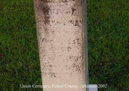 COCHRAN, MARTHA A. - Fulton County, Arkansas | MARTHA A. COCHRAN - Arkansas Gravestone Photos