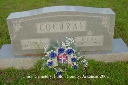COCHRAN, RALPH L. - Fulton County, Arkansas | RALPH L. COCHRAN - Arkansas Gravestone Photos