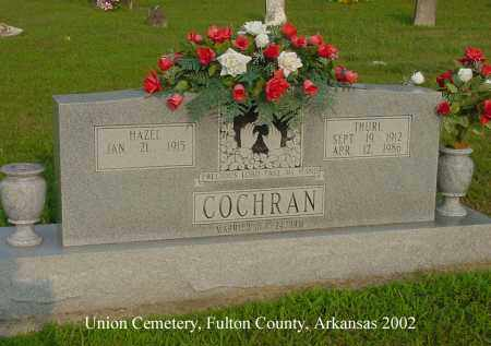 COCHRAN, THURL - Fulton County, Arkansas | THURL COCHRAN - Arkansas Gravestone Photos