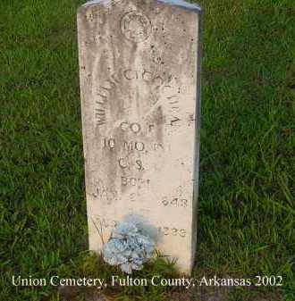 COCHRAN  (VETERAN CSA), WILLIAM C. - Fulton County, Arkansas | WILLIAM C. COCHRAN  (VETERAN CSA) - Arkansas Gravestone Photos