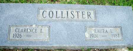COLLISTER, LAURA L. - Fulton County, Arkansas | LAURA L. COLLISTER - Arkansas Gravestone Photos