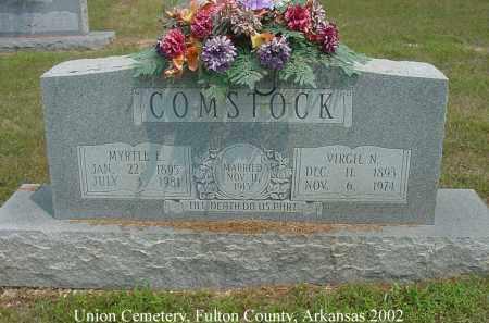 COMSTOCK, VIRGIL N. - Fulton County, Arkansas   VIRGIL N. COMSTOCK - Arkansas Gravestone Photos