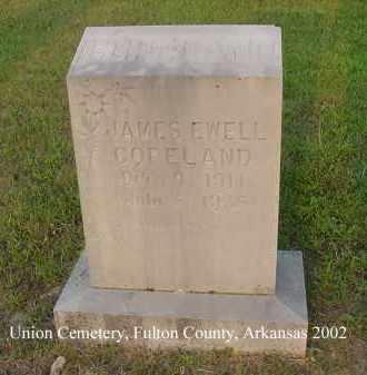 COPELAND, JAMES EWELL - Fulton County, Arkansas | JAMES EWELL COPELAND - Arkansas Gravestone Photos
