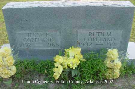 COPELAND, JESSE RAY - Fulton County, Arkansas   JESSE RAY COPELAND - Arkansas Gravestone Photos