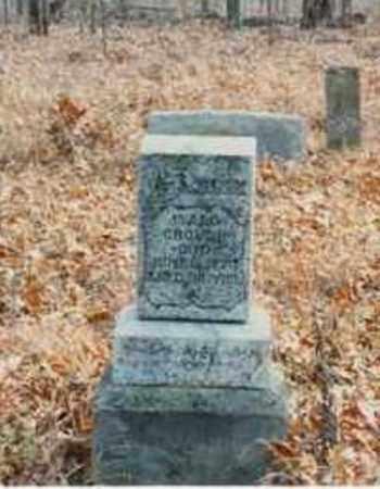 CROUCH, ISAAC RICHARD - Fulton County, Arkansas   ISAAC RICHARD CROUCH - Arkansas Gravestone Photos