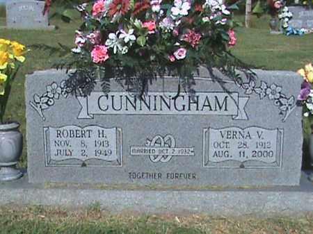 CUNNINGHAM, ROBERT H. - Fulton County, Arkansas   ROBERT H. CUNNINGHAM - Arkansas Gravestone Photos
