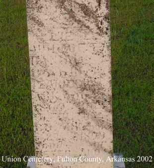 BRAY DANIEL, ALLIE L. - Fulton County, Arkansas | ALLIE L. BRAY DANIEL - Arkansas Gravestone Photos