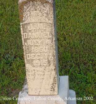 DANIEL, JAMES M. - Fulton County, Arkansas | JAMES M. DANIEL - Arkansas Gravestone Photos
