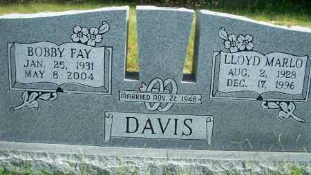 DAVIS, BOBBY FAY - Fulton County, Arkansas   BOBBY FAY DAVIS - Arkansas Gravestone Photos
