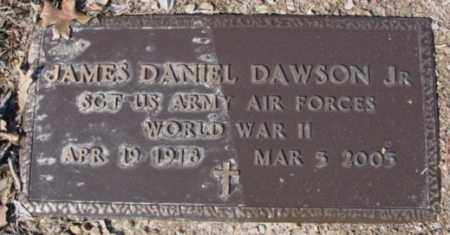 DAWSON, JR (VETERAN WWII), JAMES DANIEL - Fulton County, Arkansas   JAMES DANIEL DAWSON, JR (VETERAN WWII) - Arkansas Gravestone Photos