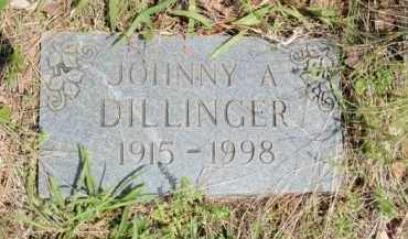 DILLINGER, JOHNNY A - Fulton County, Arkansas   JOHNNY A DILLINGER - Arkansas Gravestone Photos