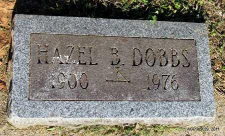 DOBBS, HAZEL B - Fulton County, Arkansas | HAZEL B DOBBS - Arkansas Gravestone Photos