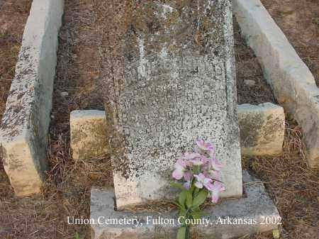 DYER, ANNIE CORINNE - Fulton County, Arkansas   ANNIE CORINNE DYER - Arkansas Gravestone Photos