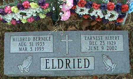 ELDRIED, MILDRED BERNICE - Fulton County, Arkansas | MILDRED BERNICE ELDRIED - Arkansas Gravestone Photos