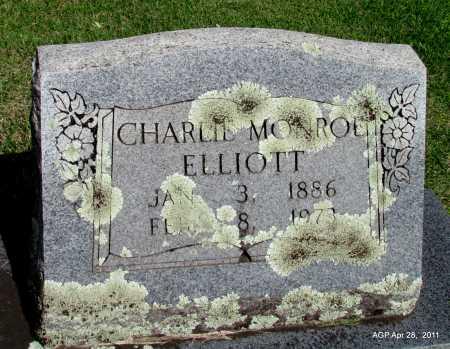 ELLIOTT, CHARLIE MONROE - Fulton County, Arkansas | CHARLIE MONROE ELLIOTT - Arkansas Gravestone Photos