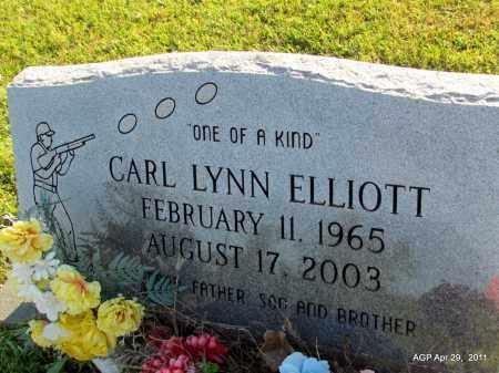 ELLIOTT, CARL LYNN - Fulton County, Arkansas | CARL LYNN ELLIOTT - Arkansas Gravestone Photos